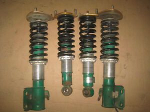 02 04 SUBARU LEGACY BE5 BHS B4 TEIN ADJUSTABLE COILOVERS JDM BE5