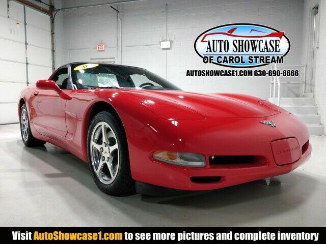 2003 Red Chevrolet Corvette  Z51 | C5 Corvette Photo 1