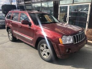 2007 Jeep Grand Cherokee RARE DIESEL OVERLAND EDITION W/ LEATHER
