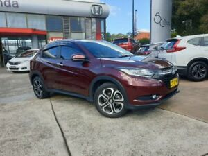 2015 Honda HR-V MY15 VTi-L Red 1 Speed Constant Variable Hatchback Hornsby Hornsby Area Preview