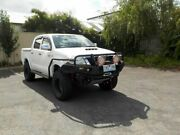 2013 Toyota Hilux KUN26R MY14 SR (4x4) White 5 Speed Automatic Dual Cab Pick-up Newtown Geelong City Preview