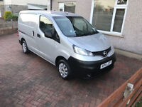 2014 Nissan Nv200 110bhp 6 speed sat nav and reverse camera in silver ++++NO VAT++++