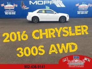 2016 Chrysler 300S AWD LEATHER, BACK UP CAM, BEATS BY DRE