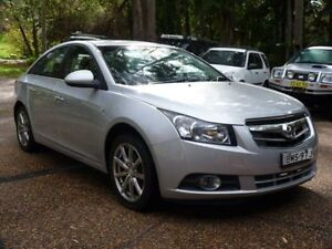 2009 Holden Cruze JG CDX Silver 6 Speed Automatic Sedan Glenning Valley Wyong Area Preview