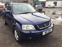 Honda CR-V automatic, starts and drives well, private plate, car located in Gravesend Kent, no MOT,