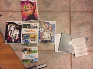Wii, Wii fit, games and accessories