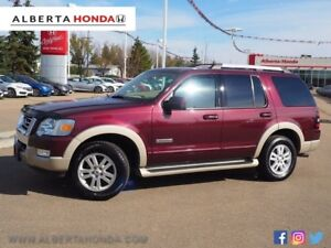 2006 Ford Explorer Eddie Bauer V8. Low Kms. Heated Seats. Dual C