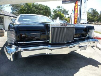 1972 Lincoln Continental Mark lV Black Automatic Coupe