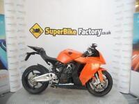 2010 10 KTM RC8 1190