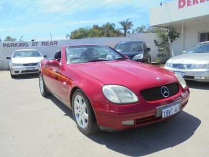 1997 Mercedes-Benz SLK230 Kompressor R170 Red 5 Speed Automatic Roadster Bayswater Bayswater Area Preview