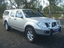 2013 Nissan Navara D40 MY12 ST 4X4 Silver 6 Speed Manual Dual Cab Pick-up Dalby Dalby Area Preview