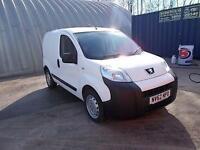Peugeot Bipper 1.3 HDI 70BHP S VAN DIESEL MANUAL WHITE (2012)
