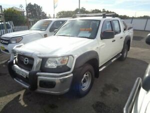 2007 Mazda BT-50 B3000 DX (4x4) White 5 Speed Manual Dual Cab Pick-up Sandgate Newcastle Area Preview