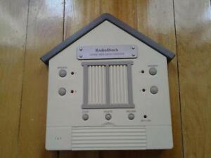 RADIOSHACK HOME MESSAGE SYSTEM 4 MESSAGE BOXES