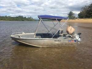 Quintrex Explorer 385 with Honda 50Hp Innisfail Cassowary Coast Preview