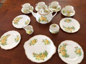 Royal Albert Tea Rose Lunch Set