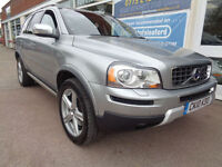 Volvo XC90 2.4 D5 4x4 Geartronic 2010 R Design SE F/S/H 7 Seats P/X