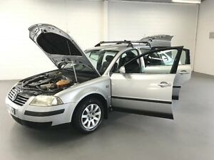 2001 Volkswagen Passat 3B 1.8T Silver 5 Speed Manual Sedan Frankston Frankston Area Preview