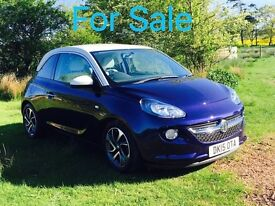 Vauxhall Adam jam 2015 1.2ltr high end version includes all extras