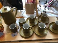 Denby Ode Coffee set.