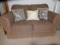 Pair of Delcor Two Seater Sofas Slightly Used