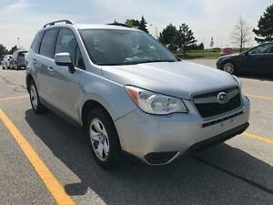 2014 SUBARU FORESTER 2.5L AWD NO ACCIDENT/CLEAN