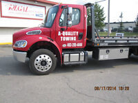Calgary,Chestermere,Airdrie Flat Rates Towing   403-285-4444