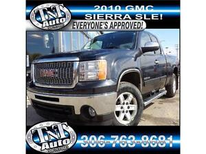 10 GMC Sierra SLE - FINANCE TODAY! APPLY TODAY @ TNTPA OR ONLINE