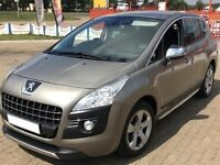 Peugeot 3008 HDi Crossover - 2010 - grey - immaculate!