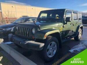 2007 Jeep Wrangler Unlimited Sahara **Low kms!  Great Deal!**