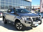 2017 Mazda BT-50 UR0YG1 XTR Silver 6 Speed Sports Automatic Utility Palmyra Melville Area Preview