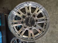 4 take off rims from 2011 GMC