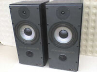 120W Mission Stereo Speakers