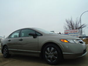 2007 Honda Civic EX SPORT-5 SPEED-RUNS AND DRIVES EXCELLENT