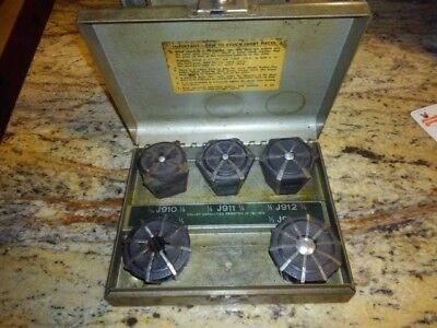 Jacobs Rubberflex Lathe Collet Set 116-58