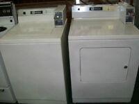 Duo laveuse et sécheuse Maytag commerciales usagées