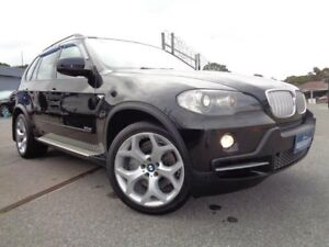 2008 BMW X5 E70 3.0SD Black 6 Speed Auto Steptronic Wagon Pooraka Salisbury Area Preview