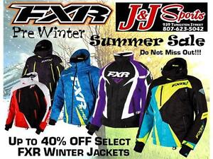 FXR SUMMER BLOW OUT SALE UP TO 40% OFF