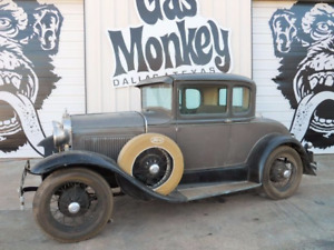 Model A Coupe Project Car