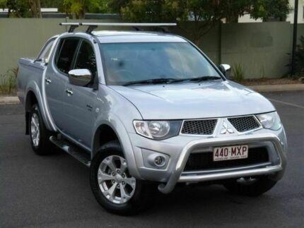 2009 Mitsubishi Triton MN MY10 GLX-R Double Cab Silver 5 Speed Manual Utility Chermside Brisbane North East Preview