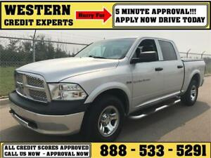 2011 Ram 1500 4x4 ~ Command Start ~ 5 Minute Approval $188 B/W