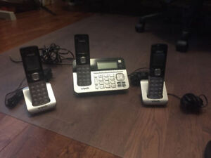 V-Tech Cordless Phones with Base Station Answering System