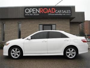 2009 Toyota Camry SE * HEATED LEATHER * SUNROOF * NO ACCIDENTS