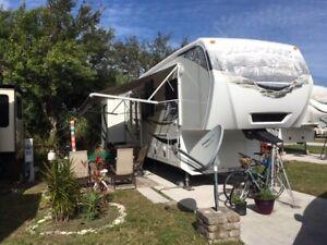 Roulotte 5Th Wheel Keystone Alpine 2011  Floride
