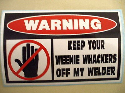 Funny Welder Welding Rod Mig Tig Wire Iron Worker Fabricator Helmet Sticker 278