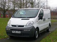 VAUXHALL VIVARO 2006 Vauxhall Vivaro 2900 Di (Ex BT Fleet) (70k Miles) NO VAT (white) 2006