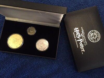 Gringotts Bank Coin Collection, Harry Potter, Wizarding World Diagon Alley Noble, usado comprar usado  Enviando para Brazil