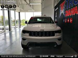 2018 Jeep Grand Cherokee LIMITED*4X4*CUIR*TOIT PANO*DÉMARREUR*CA