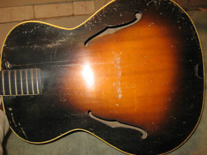 RADIOTONE Archtop solid woods made in 1937 Gatineau Ottawa / Gatineau Area image 1