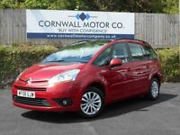 CITROEN C4 PICASSO 1.6 GRAND VTR PLUS HDI 5d 110 BHP 2 OWNER WITH FUL (red) 2008